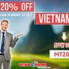 SAVE 20% OFF TO GET VIETNAM VISA ON ARRIVAL
