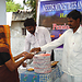 distributing monthly pensions