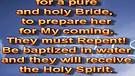 Sons of God - Spirit of Elijah – March 25, 201...