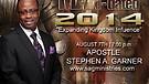 Apostle Stephen Garner MAN-dated 2014 #3