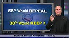 Poll shows record 58 percent would repeal ObamaC...
