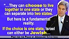 Kerry Threatens Israel: Stop Being Jewish Or Sto...