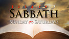 Sabbath or Sunday