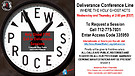 NEW Process - Call-In Deliverance Sessions