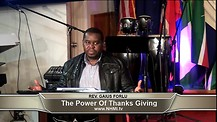 The Power of thanks - Giving