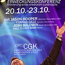 Audio-Dateien von der Face to Face Erweckungskonferenz im Oktober 2010 in Köln.<br /> Die Tracks enthalten teilweise